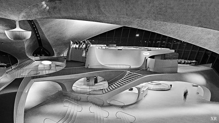Nostalgia surrounds the TWA terminal at JFK Airport